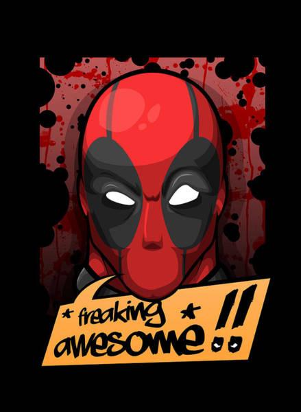 Wall Art - Digital Art - Deadpool  by Geek N Rock