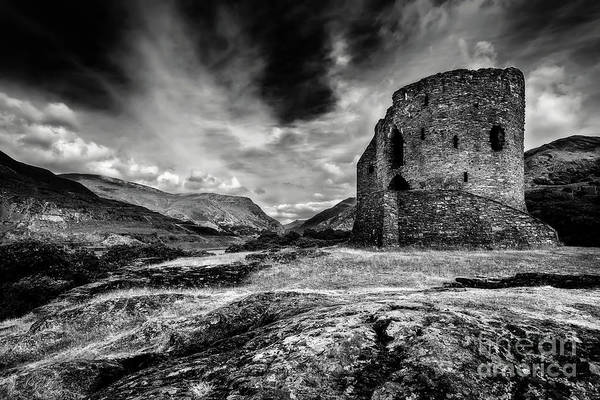 Wall Art - Photograph - Dolbadarn Castle by Adrian Evans