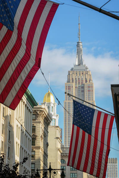 Wall Art - Photograph - Empire State Building, New York City by Ken Welsh