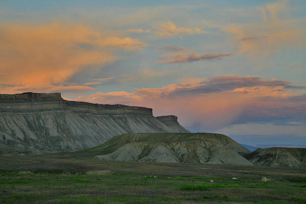 Photograph - End Of The Day At Book Cliffs by Ray Mathis