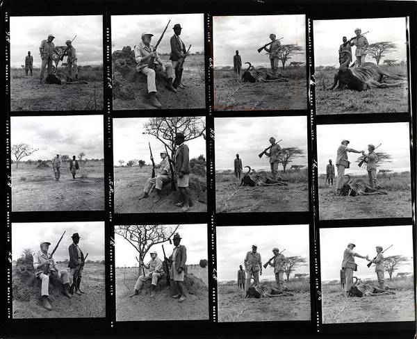 Wall Art - Photograph - Ernest Hemingway On Safari by Earl Theisen Collection