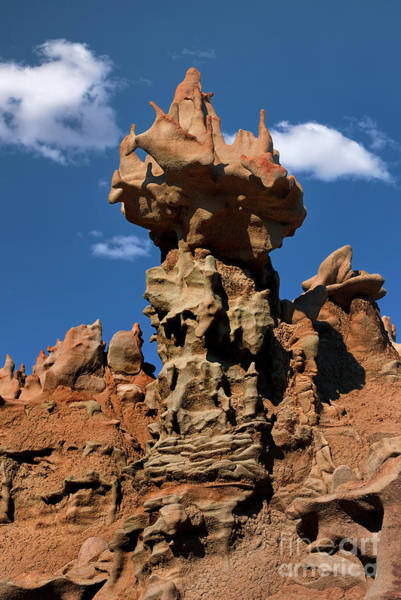 Photograph - Eroded Sandstone Formations Fantasy Canyon Utah by Dave Welling