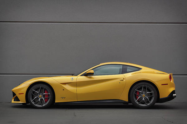Photograph - #ferrari #f12 #print by ItzKirb Photography