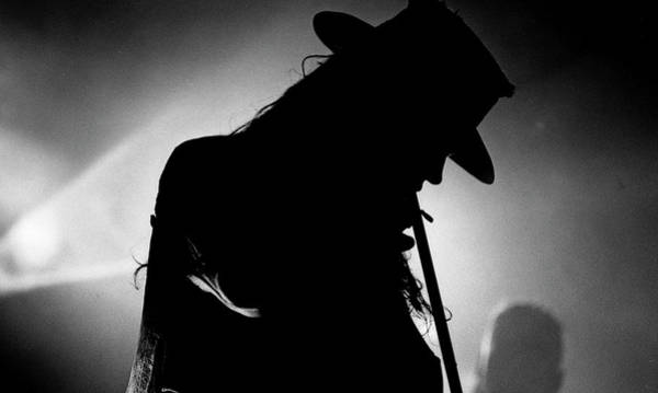 Photograph - Fields Of The Nephilim 1990 by Martyn Goodacre
