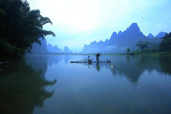 Wall Art - Photograph - Fishing by Bihaibo