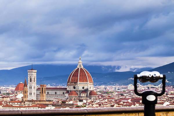 Binoculars Photograph - Florence by Deimagine