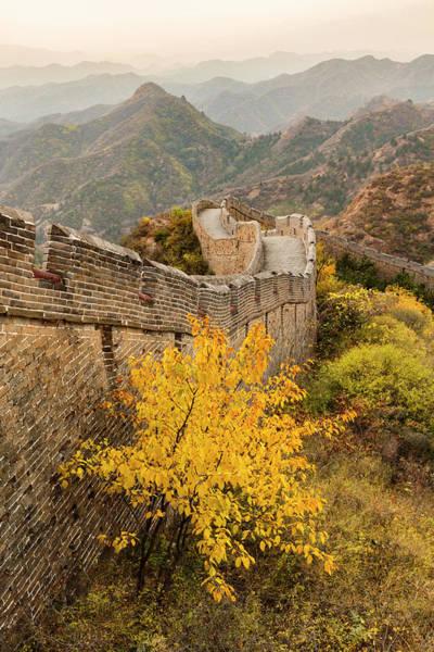 Wall Art - Photograph - Great Wall Of China And Jinshanling by Adam Jones