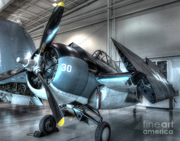 Ju 52 Wall Art - Photograph - Grumman - Fm-2 - Wildcat by Greg Hager