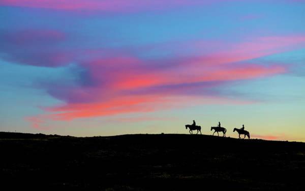 Photograph - 3 Horsemen by John Rodrigues