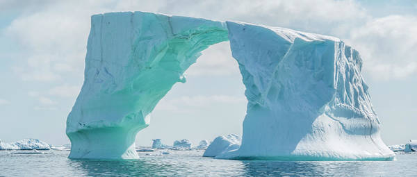 Wall Art - Photograph - Iceberg Floating In Southern Ocean by Panoramic Images