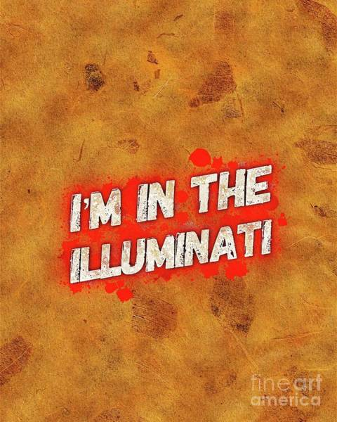 Wall Art - Painting - Illuminati by Pierre Blanchard