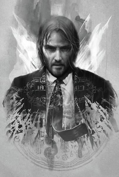 Wall Art - Digital Art - John Wick 3 Parabellum by Geek N Rock