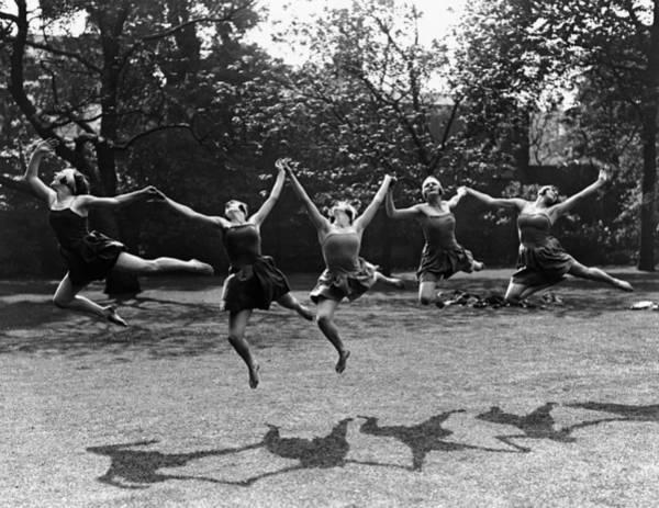 Carefree Photograph - Joie De Vivre by Fox Photos