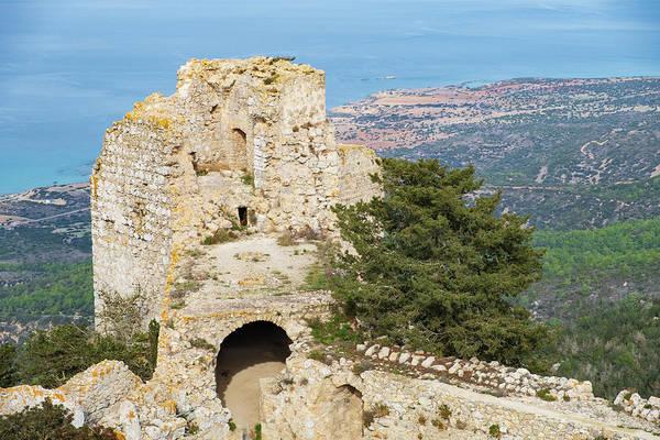Nature Wall Art - Photograph - Kantara Castle, Cyprus by Iordanis Pallikaras