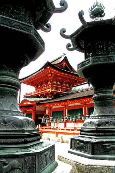 Photograph - Kasuga Taisha Shrine - Nara, Japan by Richard Krebs
