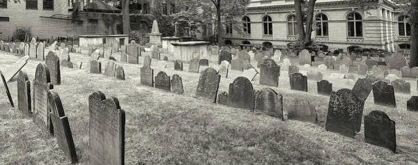 Wall Art - Photograph - Kings Chapel Burying Ground, Boston by Panoramic Images