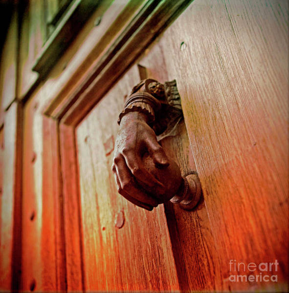 Wall Art - Photograph - Knocker by Bernard Jaubert