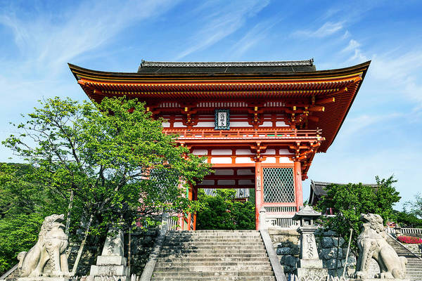 Kansai Wall Art - Photograph - Kyoto, Japan Main Entrance Gate by Miva Stock