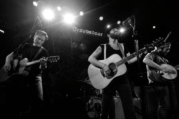 Talk Show Host Photograph - Langhorne Slim At The Troubadour by Stephen Albanese