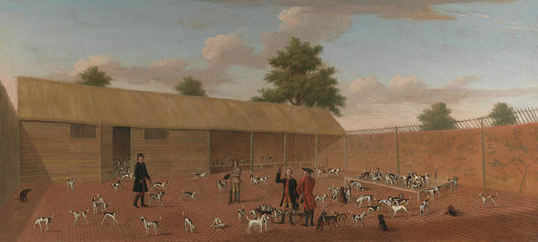 Mall Painting - Learning About The Hounds by Thomas Butler of Pall Mall