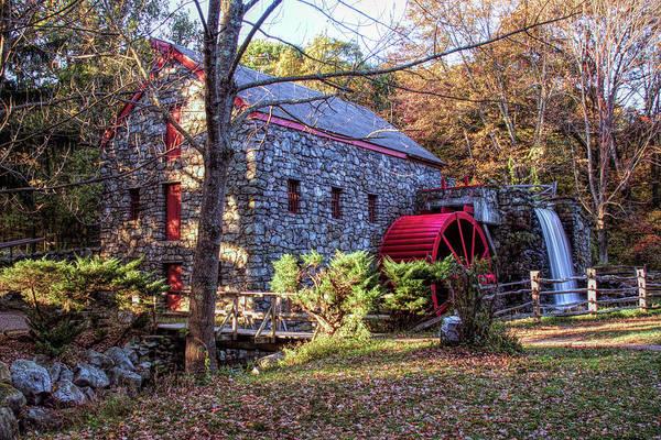 Photograph - Longfellow's Wayside Inn Grist Mill by Jeff Folger
