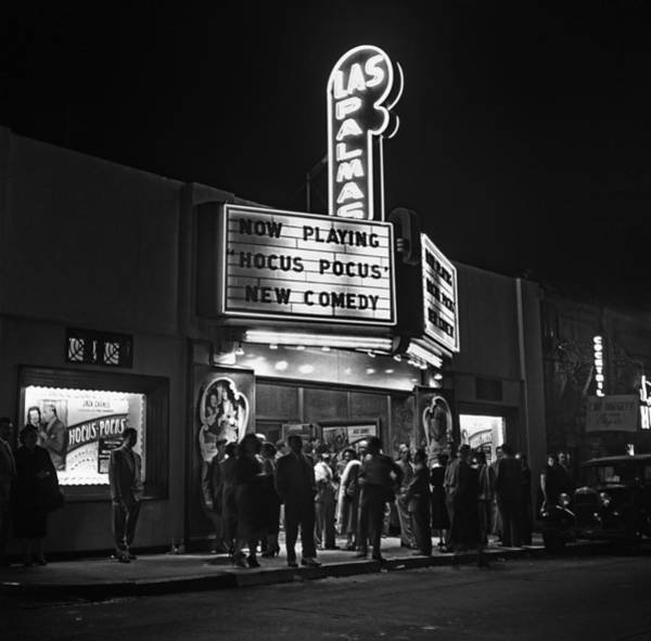 Los Angeles In The 1950s Art Print by Michael Ochs Archives