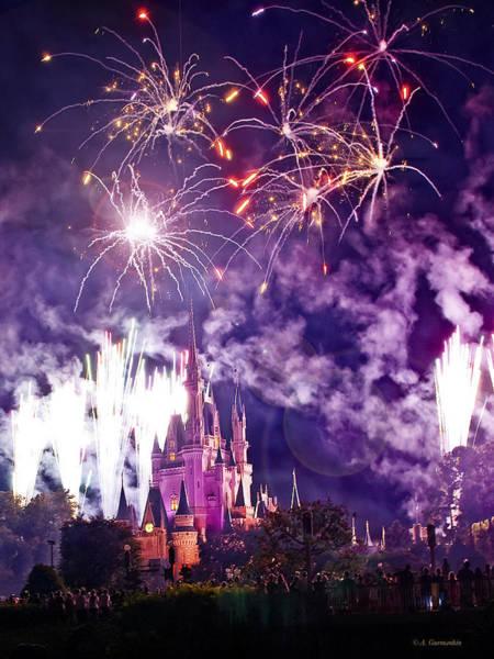 Photograph - Magic Kingdom, Walt Disney World by A Gurmankin