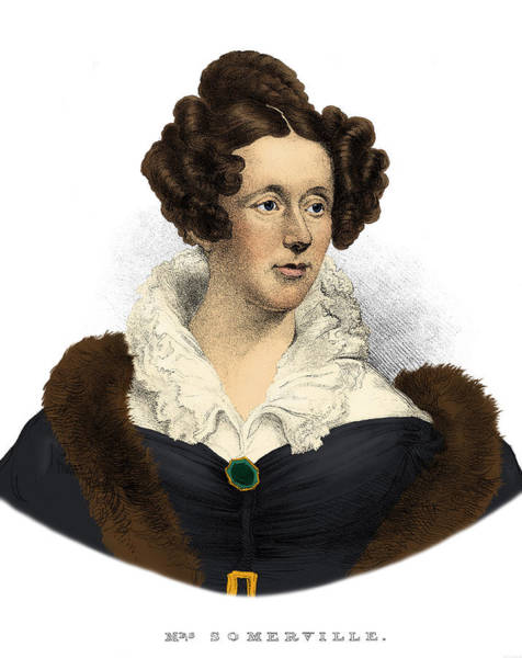Photograph - Mary Somerville, Scottish Polymath by Science Source