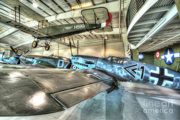 Ju 52 Wall Art - Photograph - Messerschmitt, Bf 109 by Greg Hager