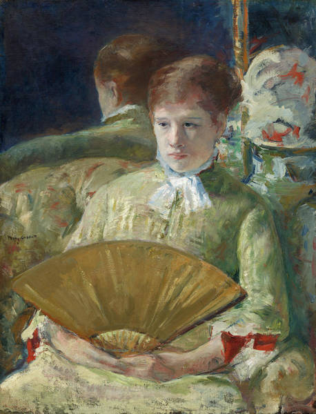 Wall Art - Painting - Miss Mary Ellison by Mary Cassatt