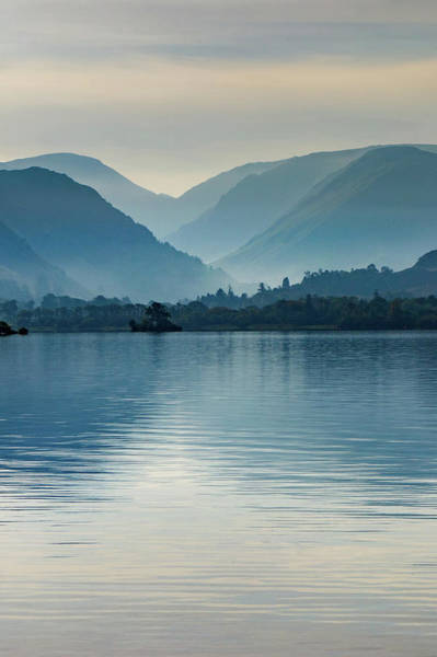 Wall Art - Mixed Media - Misty Ullswater by Smart Aviation