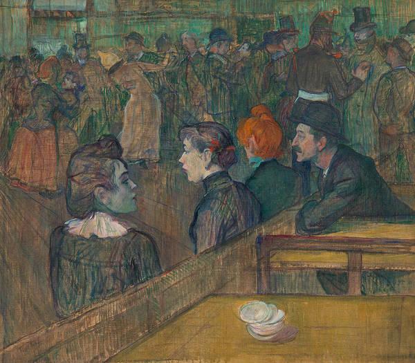 Wall Art - Painting - Moulin De La Galette by Henri de Toulouse-Lautrec
