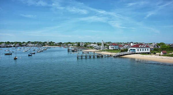 Wall Art - Photograph - Nantucket Harbor - Massachusetts by Brendan Reals