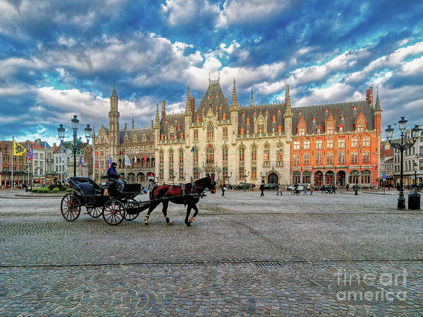 Photograph - 3 Nights In Brugge No 1 by Leigh Kemp