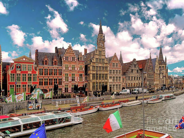 Wall Art - Photograph - 3 Nights In Brugge No 10 Ghent by Leigh Kemp