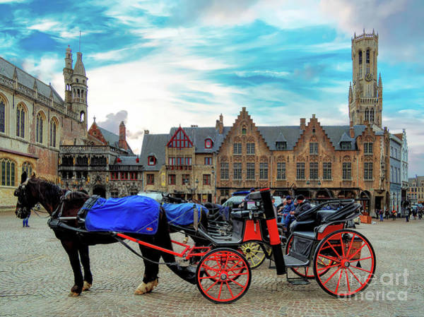 Photograph - 3 Nights In Brugge No 18 by Leigh Kemp