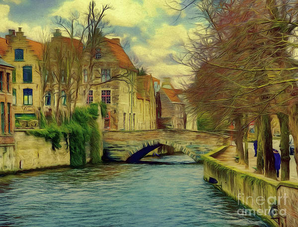 Photograph - 3 Nights In Brugge Series No 29 by Leigh Kemp