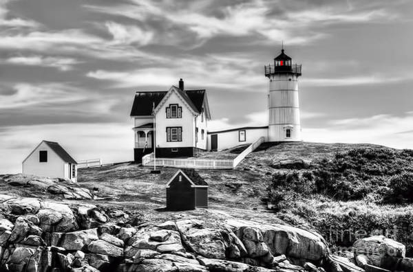 Wall Art - Photograph - Nubble Lighthouse by Arnie Goldstein