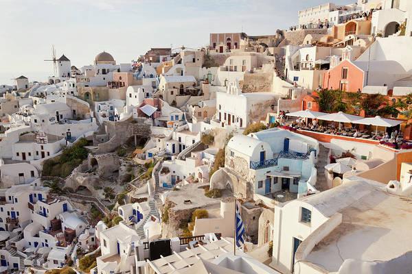 Greece Photograph - Oia, Santorini, Cyclades Islands, Greece by Peter Adams