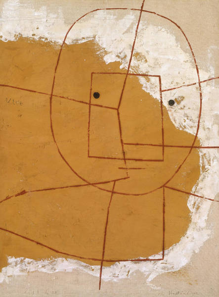 Wall Art - Painting - One Who Understands by Paul Klee