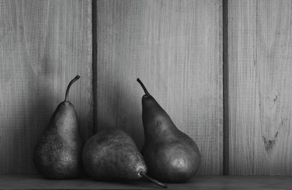 Wall Art - Photograph - 3 Pears by Andrew Pacheco