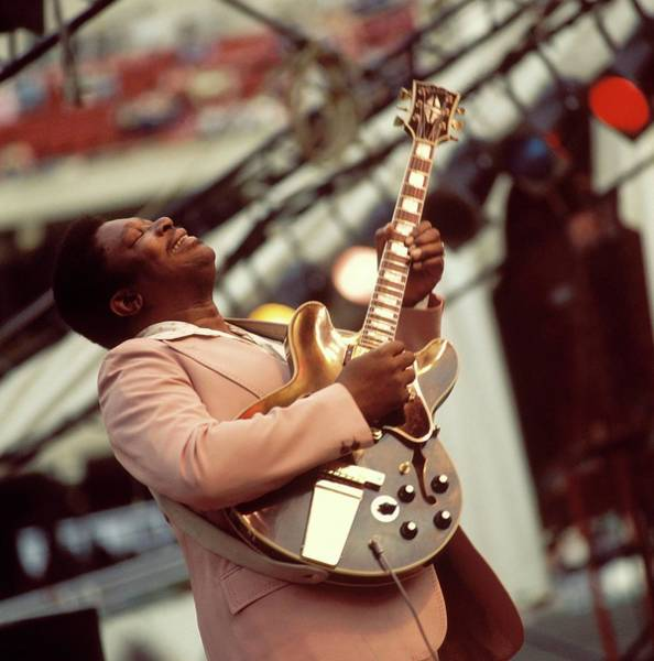 Photograph - Photo Of Bb King by David Redfern