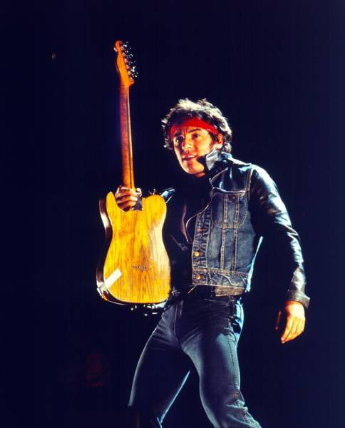 Photograph - Photo Of Bruce Springsteen by Richard Mccaffrey