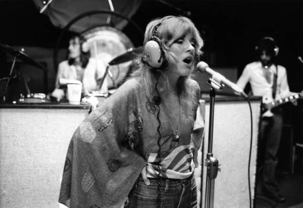 1970 Photograph - Photo Of Stevie Nicks And Fleetwood Mac by Fin Costello