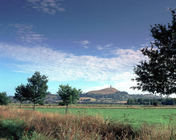 Somerset County Photograph - Picturesque Somerset - Glastonbury Tor by Seeables Visual Arts