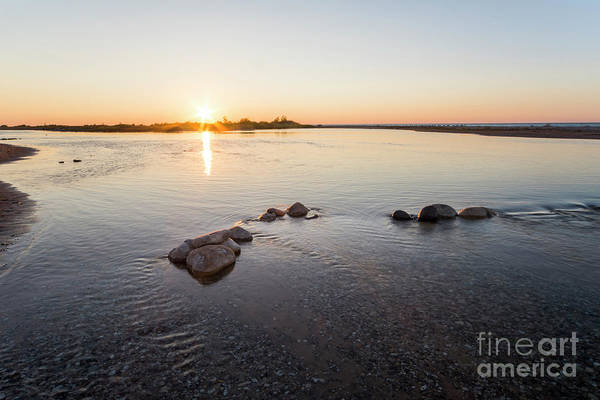 Wall Art - Photograph - Platte River At Dusk by Twenty Two North Photography