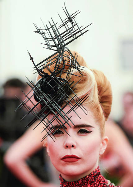 Photograph - Punk Chaos To Couture Costume Institute by Andrew H. Walker