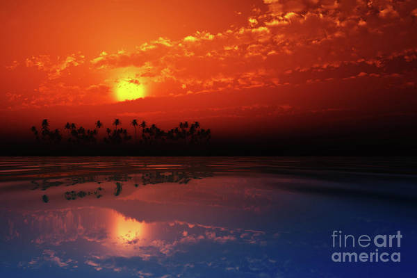 Wall Art - Photograph - Red Sunset In Clouds by Aleksey Tugolukov