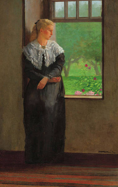 Wall Art - Painting - Reverie by Winslow Homer