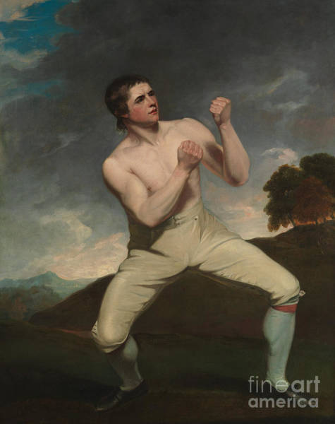 Boxing Painting - Richard Humphreys, The Boxer by John Hoppner